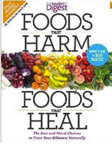 Foods That Harm: Foods That Heal Reader's Digest Book Review