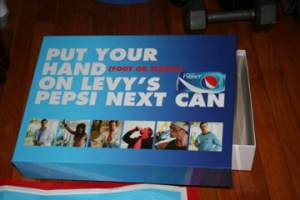 Free Pepsi NEXT: Spin the Wheel of Levy