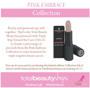 Total Beauty Shops Pink Embrace #Giveaway #EmbraceLife
