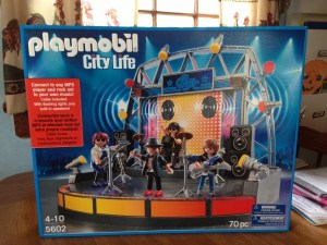 PLAYMOBIL PopStars! Stage #Review #Giveaway