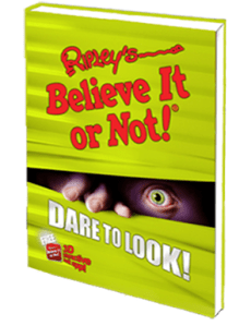 Ripley's Believe It or Not Dare to Look Annual Book #SpecialPrice