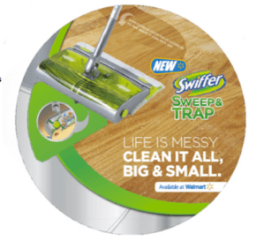 The New Swiffer Sweep & Trap #Review #NewFromSwiffer