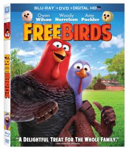 Free Birds on Blu-Ray #Giveaway #FreeBirdsDVD @FHEInsiders