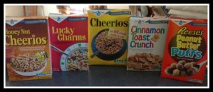 Target Big G Retro Cereals #CerealThrowback