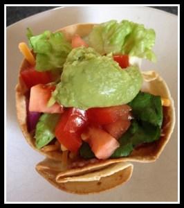 Vegetarian Taco Salad Bowls #GoodCookCom
