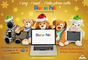 Bluebee Pals Bluetooth Enabled Buddies #Review #BluebeePals