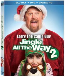 Jingle All The Way 2 on DVD/Blu-ray #JingleInsiders