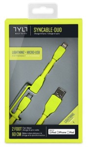 TYLT Syncable-Duo Charge and Sync Cable #Review