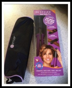 InStyler's Ionic Sytler Pro Hot Brush and Flat Iron #Review #Beauty