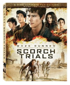 Maze Runner: The Scorch Trials!  On Blu-ray/DVD #ScorchInsiders