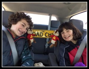 Our Road Trip with Alvin & The Chipmunks #FamilyRoadChip #AlvinInsiders