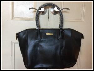 "JOY & IMAN Genuine Leather ""Best Friend"" City Satchel #Giveaway"