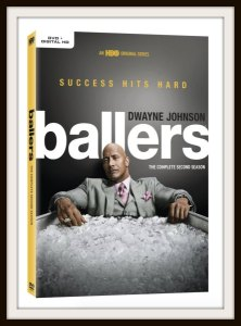 Dwayne Johnson: Ballers: Season Two on DVD/Blu-Ray #Giveaway