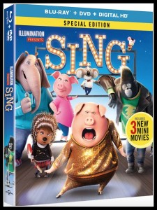 SING Movie Available on DVD and Blu-ray #SINGMovie #SINGAway