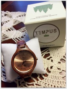 Tempus Wood Watches #Review #WoodWatches