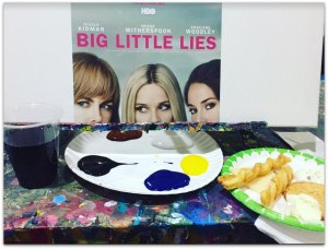 Big Little Lies Paint and Sip Event #NYC #BigLittleLies @HBO
