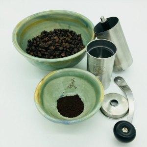 Coastal Brew Manual Coffee Grinder #Review #Giveaway