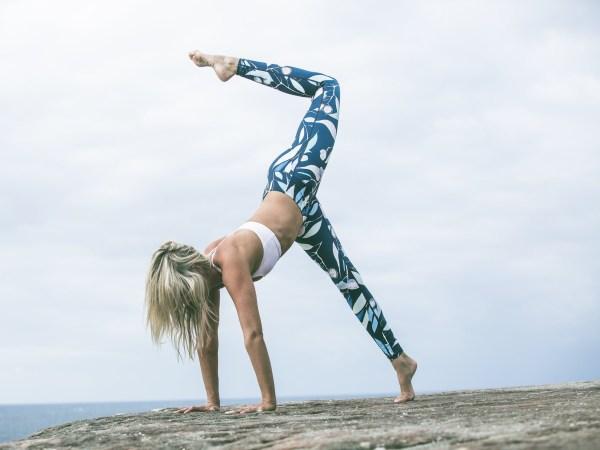 GEORGINA EVE: Yoga In The Wild X Bull's Peak Lodge