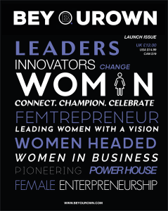 BEYOUROWN LAUNCH MAGAZINE cover