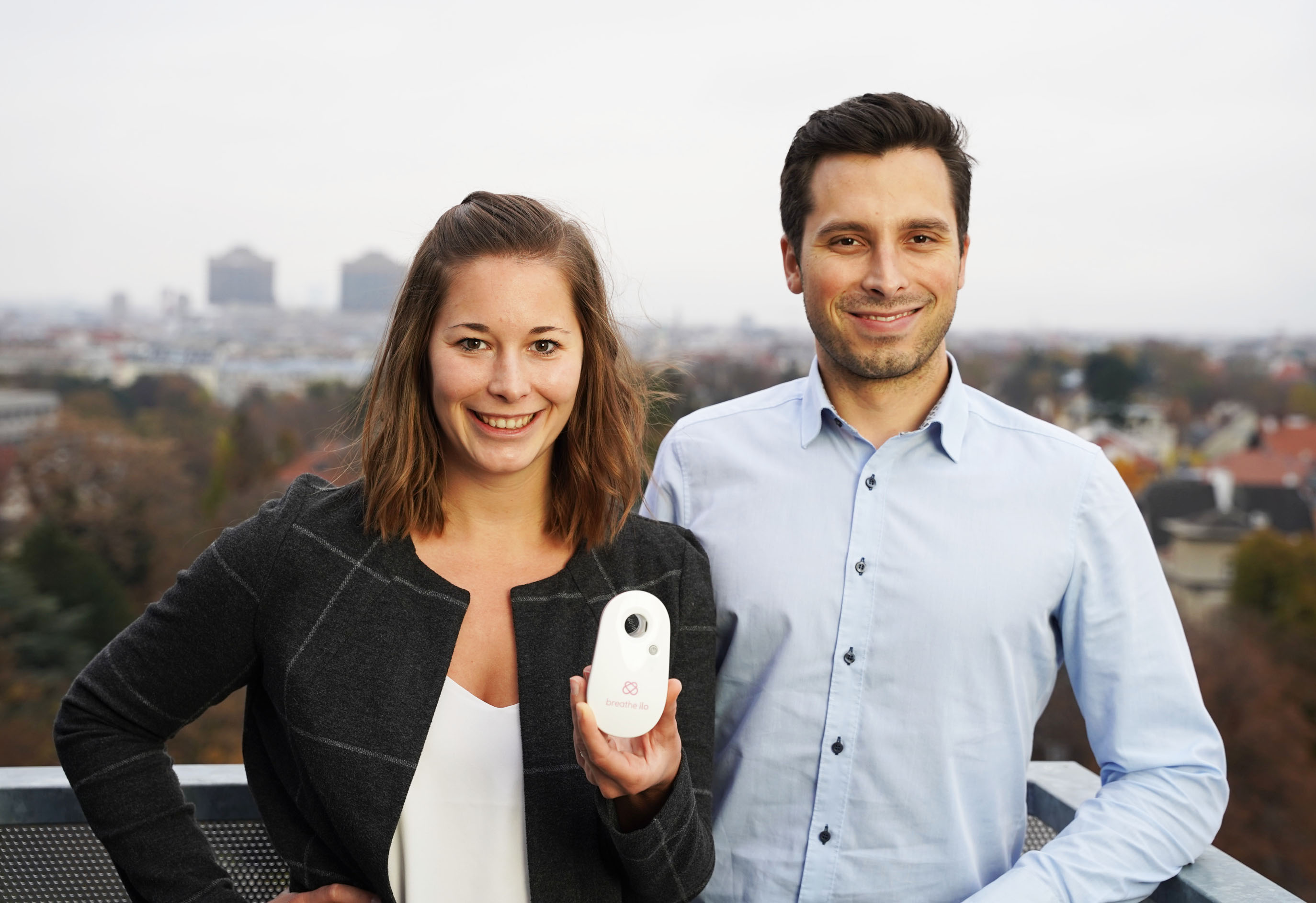 breathe ilo | Bastian Rüther, breathe ilo's CEO and Lisa Krapinger, CMO at breathe ilo