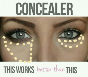 concealer makeup mistakes