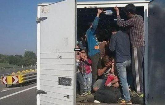 Спецакция край Видин! Спипаха 50 мигранти, натъпкани в два микробуса