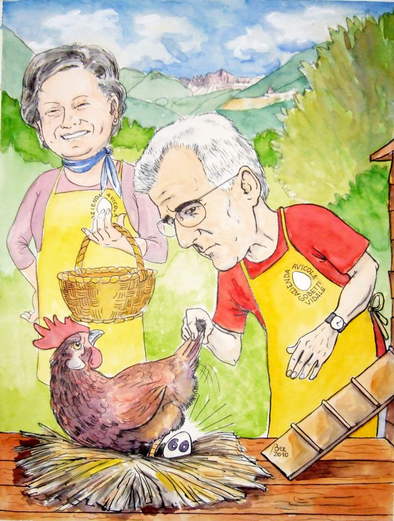 Carlo (60 anni) e Natalina