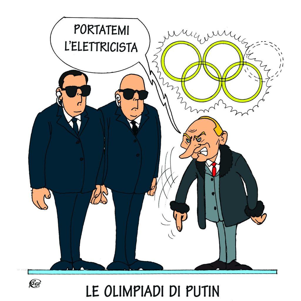 Inaugurazione olimpiade invernale