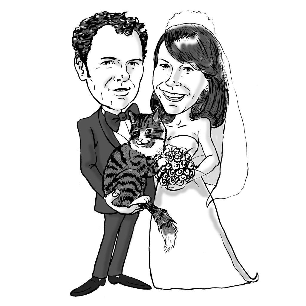 Claudio e Caroline