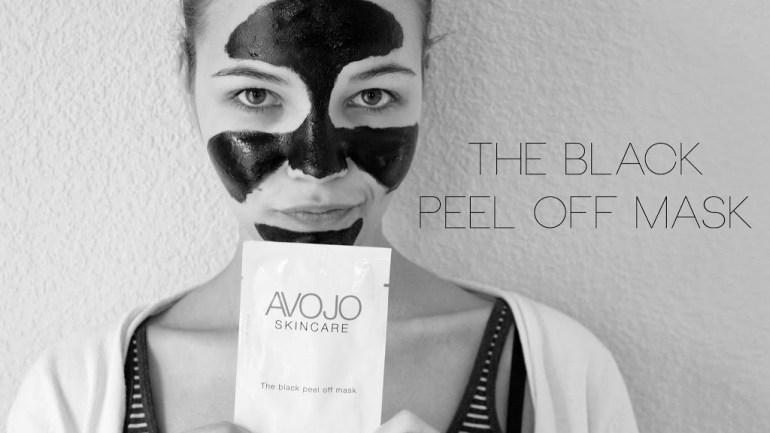 Avojo: The Black Peel Off Mask