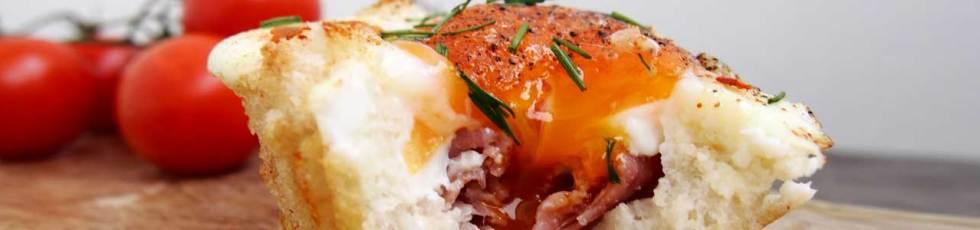Yumurtadan maffinlər / Маффины из яиц