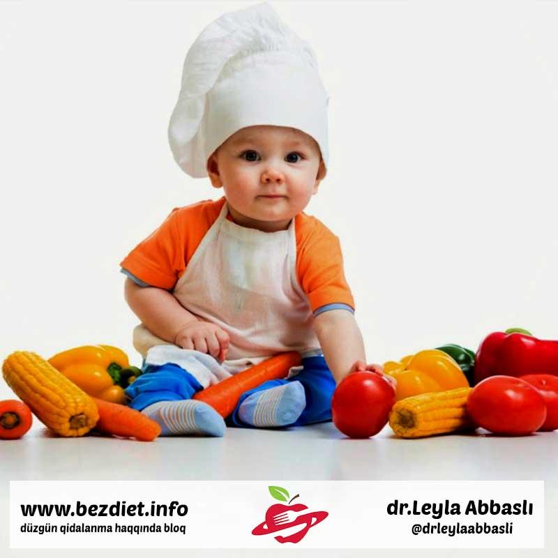 Azyaşlı uşaqların düzgün qidalanması nədir / Как правильно кормить детей раннего возраста.