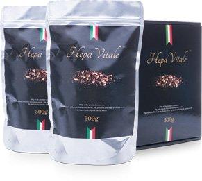 Hepa Vitale – mieszanka nasion ostropestu plamistego, babki płesznik oraz czarnuszki siewnej.