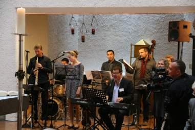 Festgottesdienst Robert Haas und seinem Ensemble