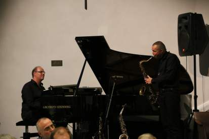 Stimmungsvolle und virtuose Jazz-Musik in den Pausen