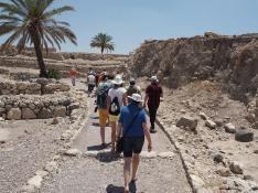 Die Teilnehmer in Megiddo
