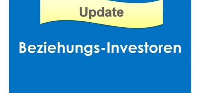 Die Beziehungs-Investoren expandieren
