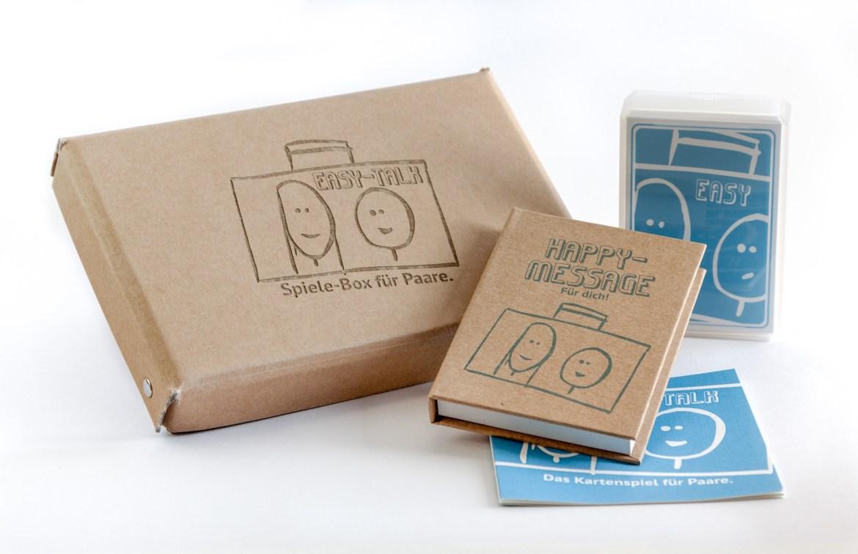 Das perfekte Geschenkk: Spiele-Box für Paare