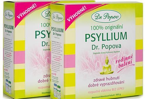 Psyllium jako vláknina při bezlepkové dietě