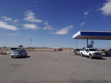 Gas Station Nevada