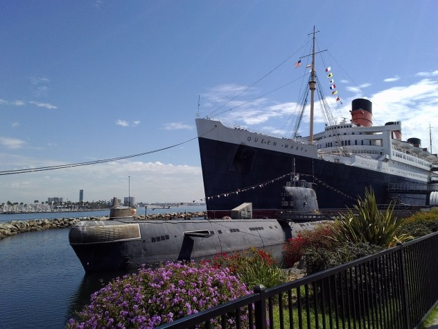 RMS Queen Mary Russian submarine