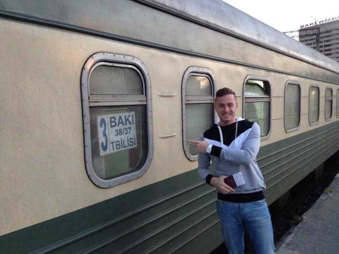 vlakom do tbilisi