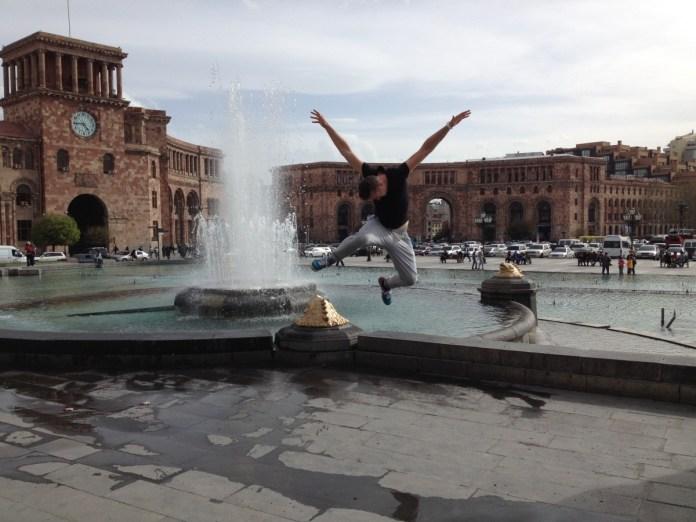 fontana v jerevane