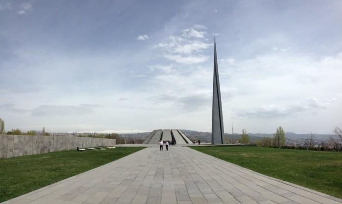 pomnik genocidy jerevan