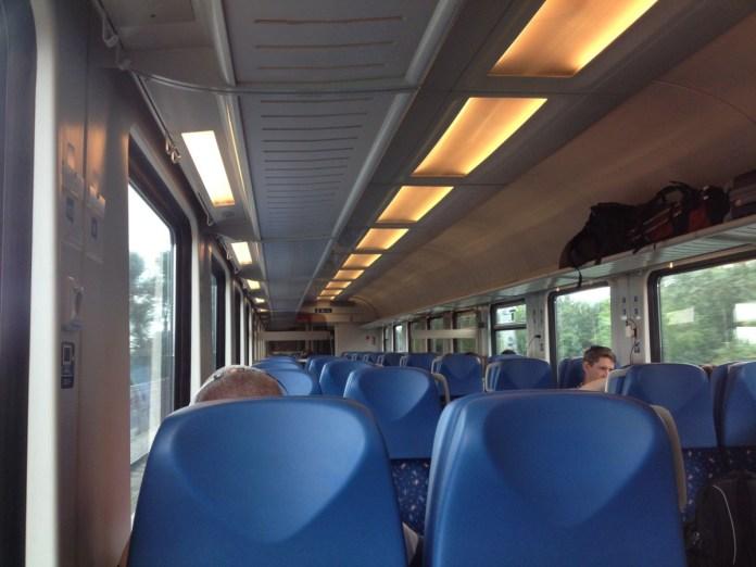 Vlak z Bratislavy do Viedne