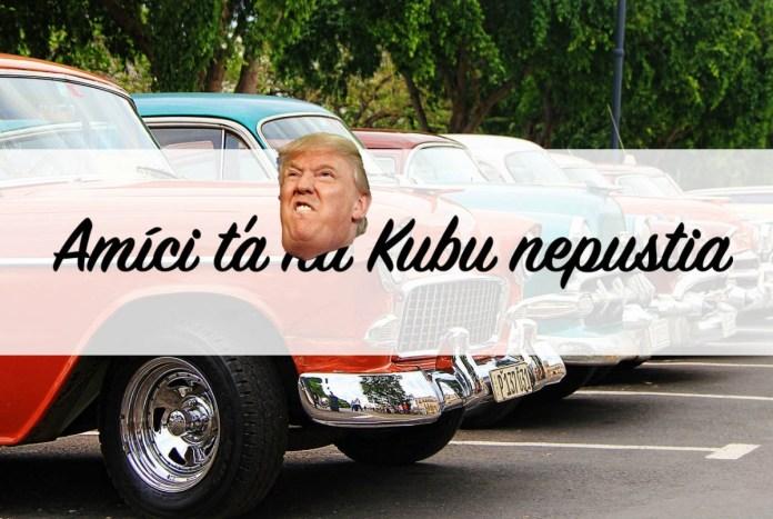 Cestovanie na Kubu cez USA