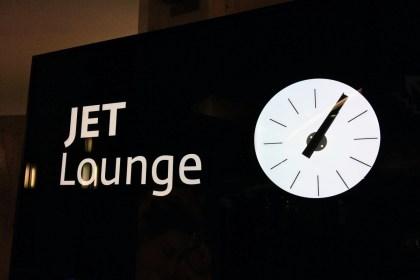 Jet lounge na letisku vo Schwechate