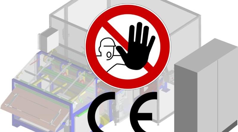 Modernizacja maszyny - znak CE