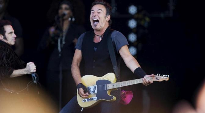 Bruce Springsteen naar Den Haag, The Boss op het Malieveld