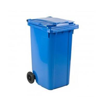 Blauwe papiercontainer aanvragen in Bezuidenhout en Mariahoeve